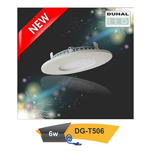 Đèn led downlight âm trần Duhal DG-T506 6W