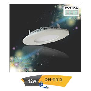 Đèn Led downlight âm trần Duhal DG-T512 12W
