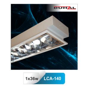 Máng đèn huỳnh quang Duhal âm trần LCA 140 1x36W
