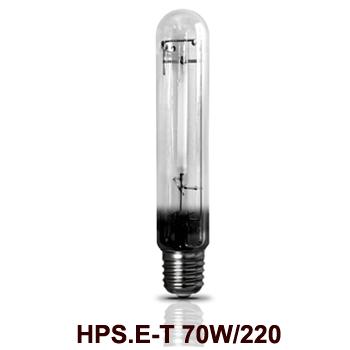 Bóng đèn cao áp 70W Rạng Đông HPS.E-T 70W/220 Sodium