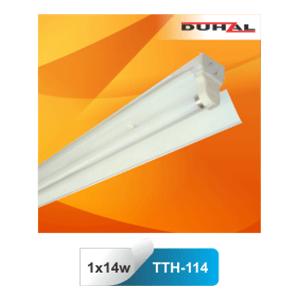 Máng đèn huỳnh quang công nghiệp Duhal TTH 114 1x14W