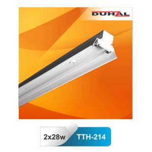 Máng đèn công nghiệp Duhal TTH 214 2x14W