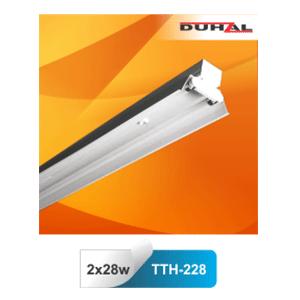 Máng đèn nhà xưởng Duhal TTH 228 2x28W