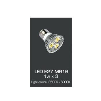 Bóng đèn Led Anfaco 3W AFC E27 LED MR16