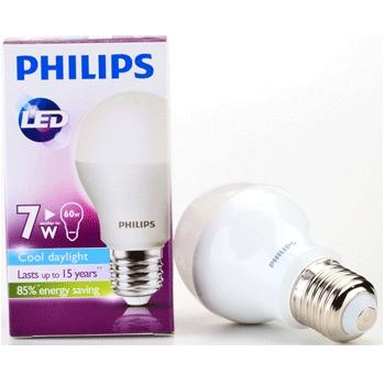 Bóng đèn Led Philips 7W đui E27