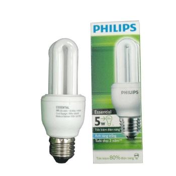 Bóng đèn compact Philips 5W Genie