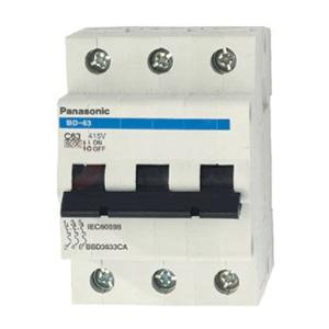 Cầu dao tự động MCB 3P/06A 6KA BBD3063CA Panasonic