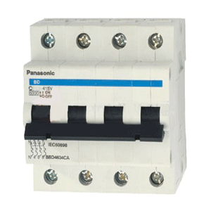 Cầu dao tự động MCB 4P/63A 6KA BBD4634CA Panasonic