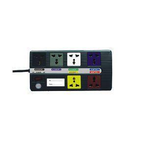 Ổ cắm điện đa năng Super 6 lỗ 3m 6D-S3-2 Lioa