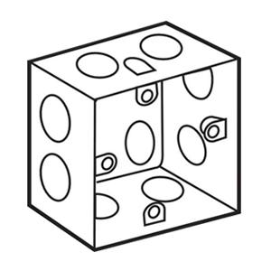 Đế âm sắt loại sâu dùng cho mặt vuông S157S Sino