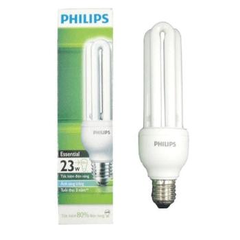 Bóng đèn compact Philips Essential 23W 3U