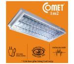 Bộ máng đèn Led âm trần 1m2 4x18W CFR412 Comet