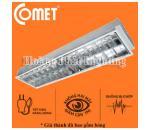 Bộ máng đèn Led âm trần 0m6 2x9W CFR206/E Comet