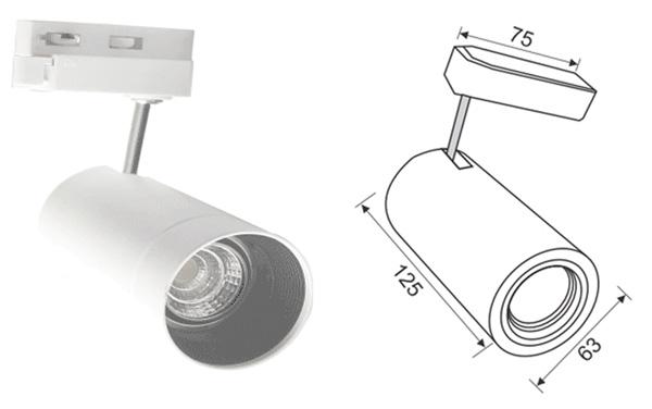 Thiết kế kỹ thuật đèn pha led tiêu điểm paragon