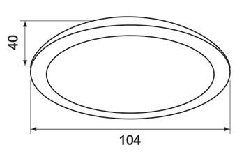 Thiết kế kỹ thuật đèn Led âm trần 7W Paragon